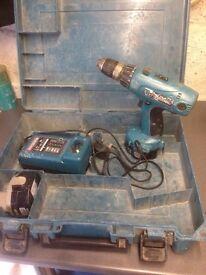 Makita battery drill