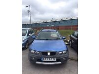 Rover streetwise 1.4 petrol low miles