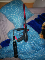 Paintball gun set worth 300$ retail looking for 175 obo