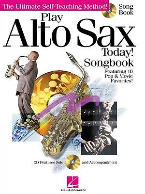 Play Alto Sax Today Songbook Instructional Book and CD NEW 000842051 ()
