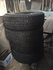 """14"""" WINTER RIMS FOR SALE. W/ EXTRA SET ON WINTER RIMS!"""