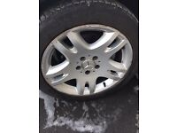 Mercedes E320 Alloy Wheels 17""