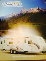 Immaculate 2007 30' Trail-Lite Camping Trailer with all camping