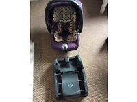 For sale Mamas and Papas Skate baby Travel System Pram set.