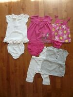 6M baby girl's summer dresses/clothes