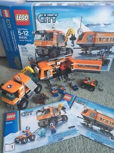 LEGO CITY- Arctic outpost, Fire truck