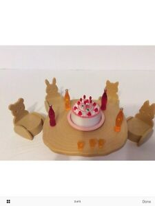 Baby Calico Critters/Sylvanian Families Birthday Party Set London Ontario image 3