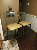 Bar height chairs
