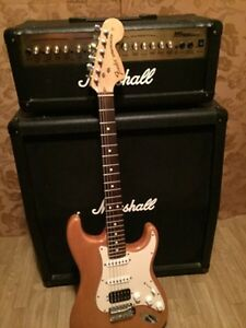 BEAUTIFUL FENDER STRAT & MARSHALL AMP!!