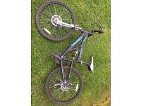 Boy mountain bike