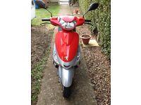 Peugeot v clic 49cc scooter