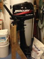 4hp Four Stroke Long Shaft Mercury Outboard