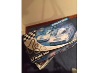 Scalextric Le Mans 24hr Mercedes (functional, all parts)