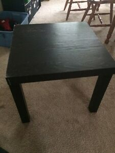 IKEA Lack table in black