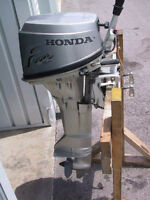 2002 Honda 9.9hp 4 stroke short shaft motor