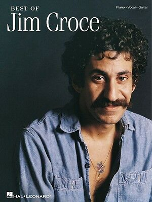 Best of Jim Croce Sheet Music Piano Vocal Guitar SongBook NEW 000672483