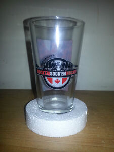 BRAND NEW COLLECTIBLE DON CHERRY ROCKEM SOCKEM GLASS GIFT SET... London Ontario image 5