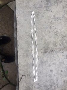 """26"""" 925 Italy silver chain *retails 350$*"""