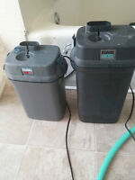 2 Fluval Canister Filters