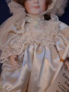 Meggan's Collectors Canadian Procelain Handmade Doll (Daisy) London Ontario image 2