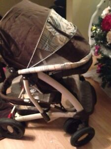 2 strollers&2carseats like new