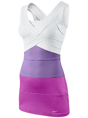 SERENA WILLIAMS STUNNING SHADES OF PURPLE SEXY FRENCH OPEN TENNIS DRESS NIKE (Nike Tennis Sunglasses)