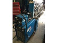 Watercooled water cooled miller welder mig 450amp 3 phase ideal gates and railing fabrication log