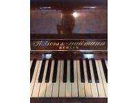 Gorgeous Upright Baby Grand Piano