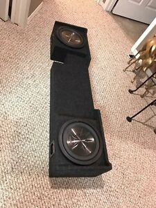 Subs out of 2008 F150