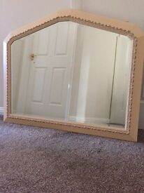 Matching mirror and pictures