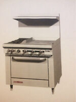 garland hot plate with oven (propane )