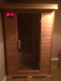Sauna. Lovely Christmas Gift,. As new will collapse into sections cd player £600