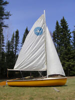 Kolibri 12' Sailboat with Trailer