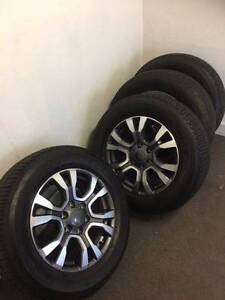 4 x Wildtrak Wheels and Tyres Tascott Gosford Area Preview