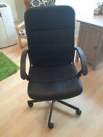 Ikea Fingal Swivel Chair (desk chair), Black