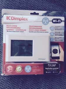 Dimplex wifi controllable Thermostat
