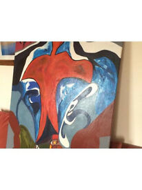 Original Oil on Canvas (001)