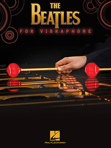The Beatles for Vibraphone Percussion Book NEW 000119303