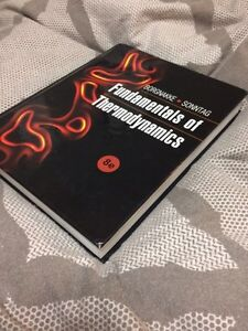 Fundamentals of thermodynamics 8ed Kitchener / Waterloo Kitchener Area image 2