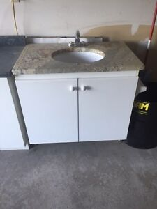 Two Cabinets and Sinks
