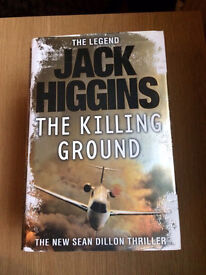 Tom Clancy jack Higgins joblot of books