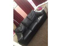 Genuin leather 3 piece suite