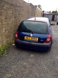10x Clio for breaking only 1.2 petrol and 1.5 diesel