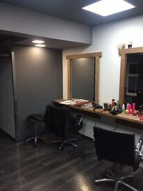 Chair space for rent to let at Platinium on Narborough road hairdresser babrber