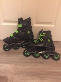 No Fear extendable inline skates size 5-8