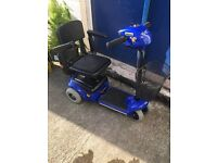 WHISPER MOBILITY SCOOTER COMPACT, FULLY SERVICED