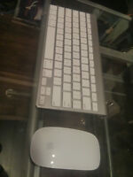 Wireless Apple Mouse and Keyboard