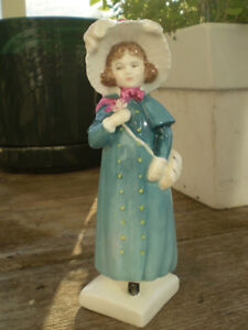 """Royal Doulton Figurine-"""" Carrie """" HN2800-Greenaway Collection Kitchener / Waterloo Kitchener Area image 5"""