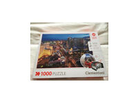 1000 Las Vegas jigsaw with 360 vision glasses