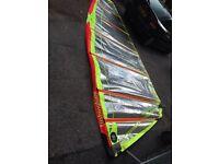 Tushingham max 10.1m sail, Tushingham 75% carbon 520 mast, Neil Pryde X7 carbon boom 225-275